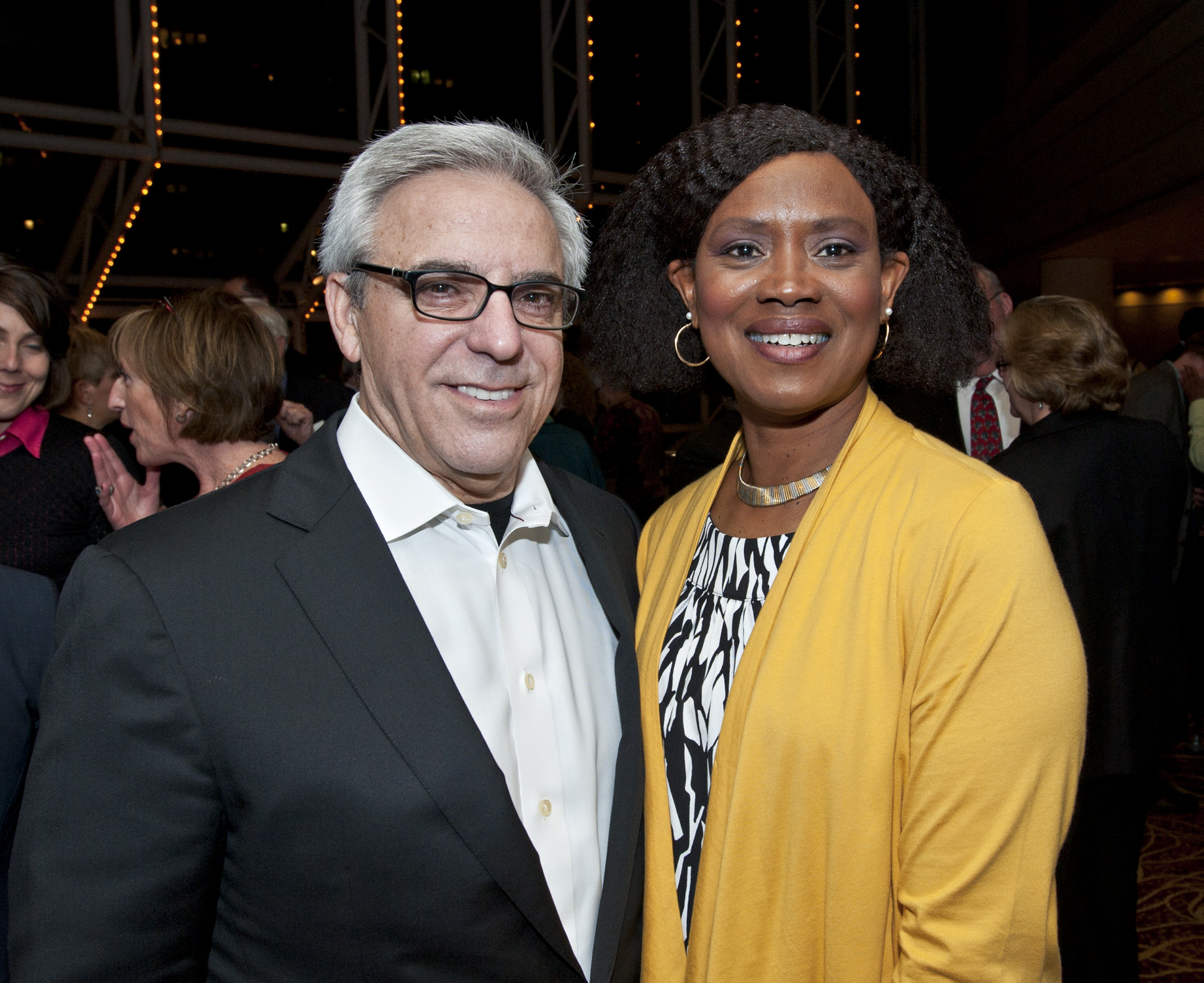 Mitchell Gold with Reverend Irene Monroe