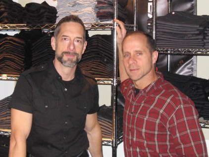Jeff Diaz and John Robb, Inseam co-owners