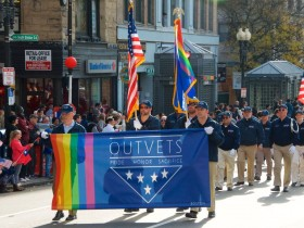 OutVets,New England OutVets,Boston 2014 Veterans Day Parade