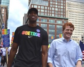 Jason Collins,Representative Joe Kennedy III,Greater Boston PFLAG,Pride and Passion,Pride & Passion