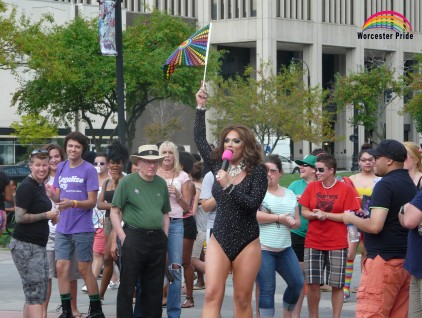 """With its """"Love Will Keep Us Together"""" theme, Worcester Pride comes out all over Massachusetts' second largest city Sept. 9-12, 2015. Photo courtesy Worcester Pride"""