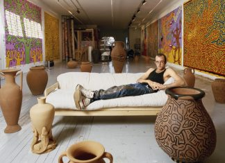 Tseng Kwong-Chi,Keith Haring,Tufts Art Gallery
