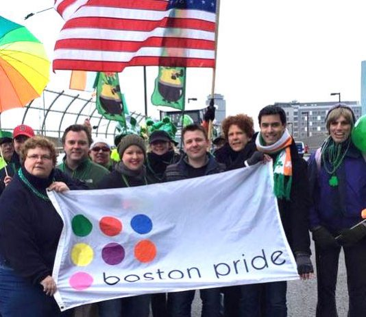 Boston Pride,South Boston St. Patrick's Day Parade 2015