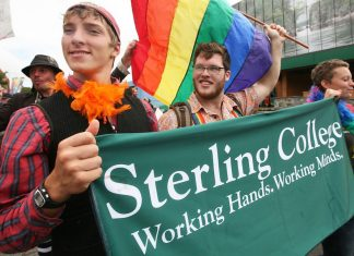 Sterling College,Campus Pride Index