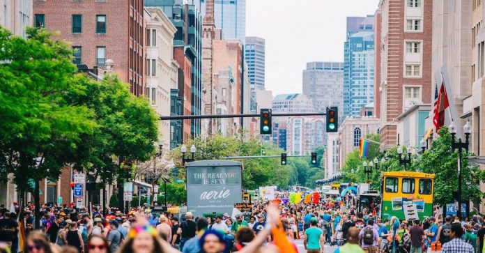 Boston Pride Parade 2016