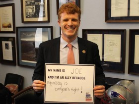 U.S. Congressman Joe Kennedy III of Massachusetts